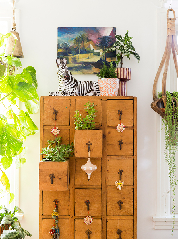 Drawers as planters
