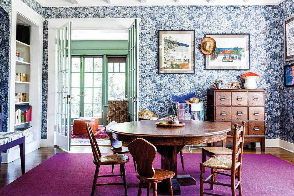 13 Things Every Dining Room Needs Blue And Green Purple White Wood Playroom 56d075e9cc657e18458f4e W1000 H1000