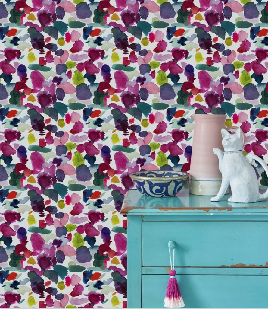 Bluebell Gray havs an amazing collection of Floral and watercolor wallpaper