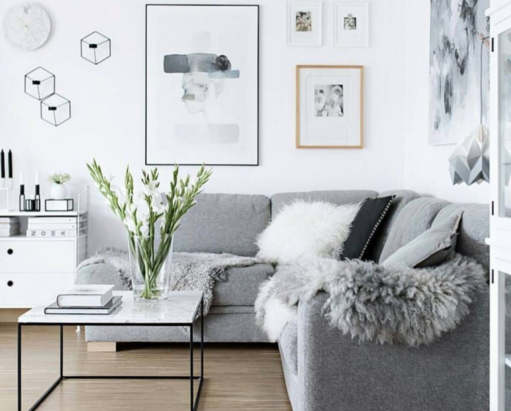 Get a monochromatic look by using different shades of the same hue